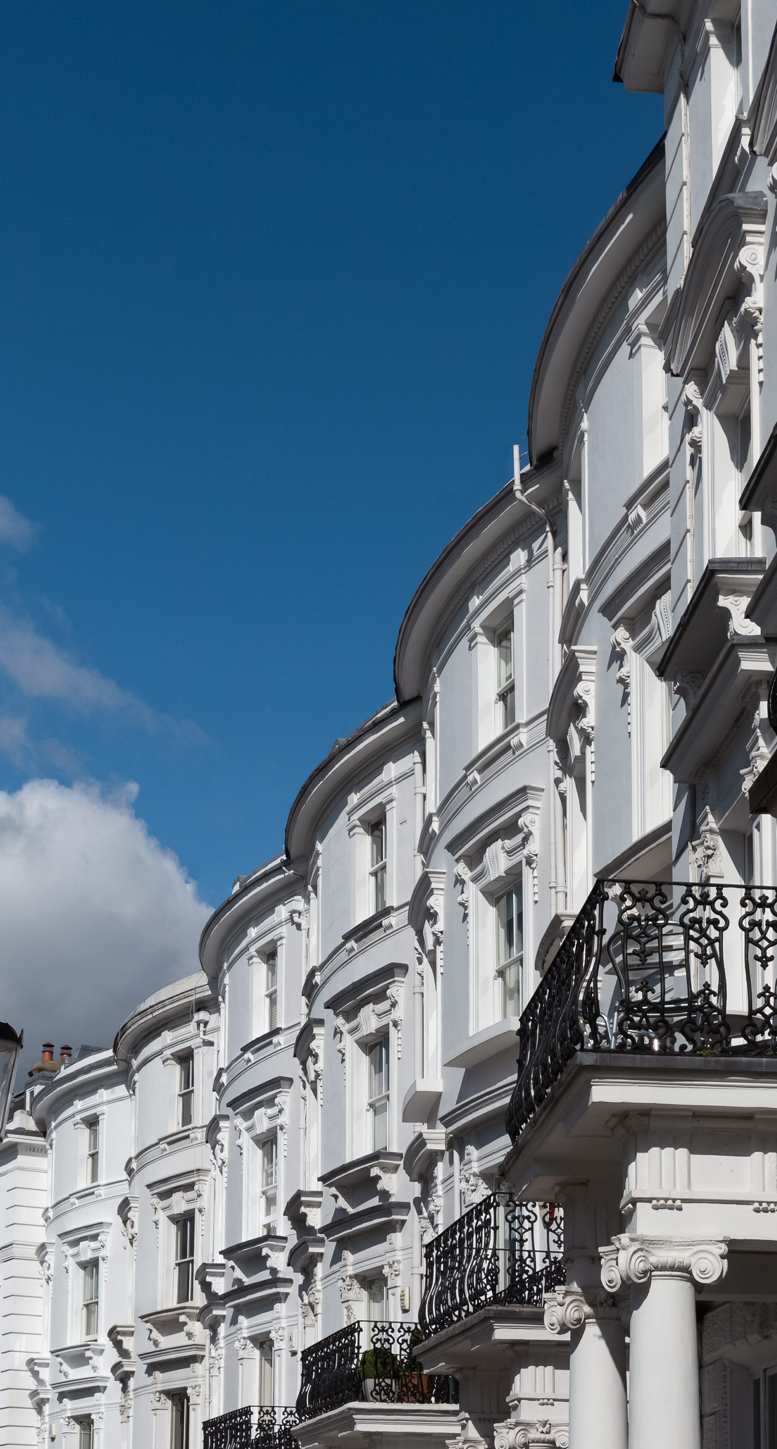 Residential property law image of town houses.